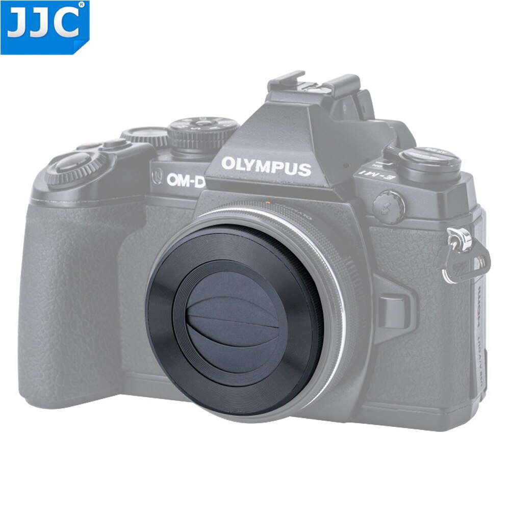 JJC авто крышка объектива для Olympus M. ZUIKO DIGITAL ED 14-42 мм f/3,5-5,6 EZ для Panasonic G Vario12-32mm f/3,5-5,6 ASPH