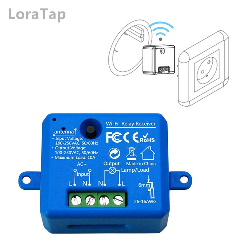 Tuya Smart Life WiFi Socket Tiny Module DIY Smart Home Automation Google Home Echo Alexa Voice Control App Remote Control