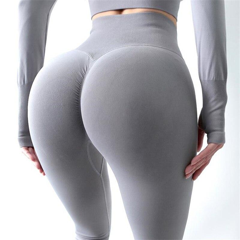 Mallas Deportivas Push Up De Cintura Alta Para Mujer, Pantalones De Yoga...