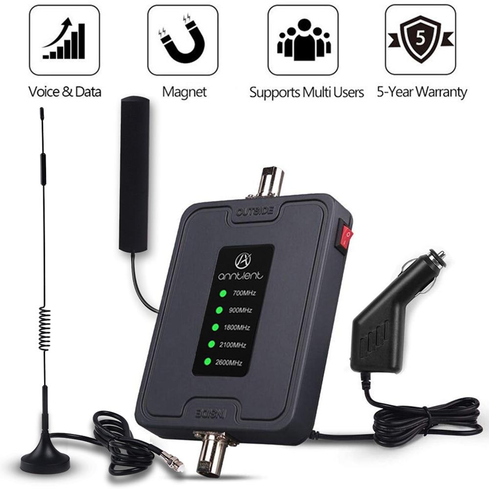 2G 3G 4G LTE موبايل هاتف محمول إشارة الداعم 700/900/1800/2100/2600MHz لأستراليا سيارة استخدام Band28/8/3/1/7 RV مكرر هوائي