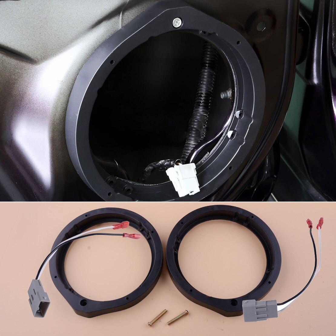 "2 uds adaptador de altavoz 165mm 6,5 ""/6,75"" y arnés de cable adecuado para Honda Civic Accord Crosstour CR-Z Insight"
