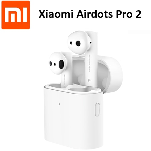 Оригинальные беспроводные наушники Xiaomi Airdots Pro 2 Air 2 TWS Mi True Earbuds 2 LHDC Сенсорное стерео управление двойной микрофон ENC микрофон Громкая связь