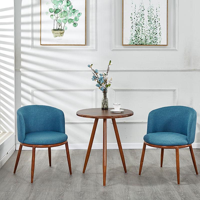 Обеденные стулья в скандинавском стиле, обеденный стол, обеденный стол со стульями, искусственный маленький стол, мебель для гостиной, стул...