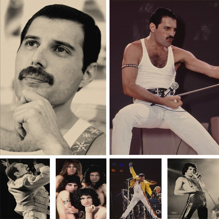 Queen Band Freddie Mercury 5d Diamond Painting Diy Diamond Embroidery Mosaic High Quality Wall Sticker Decoration Painting