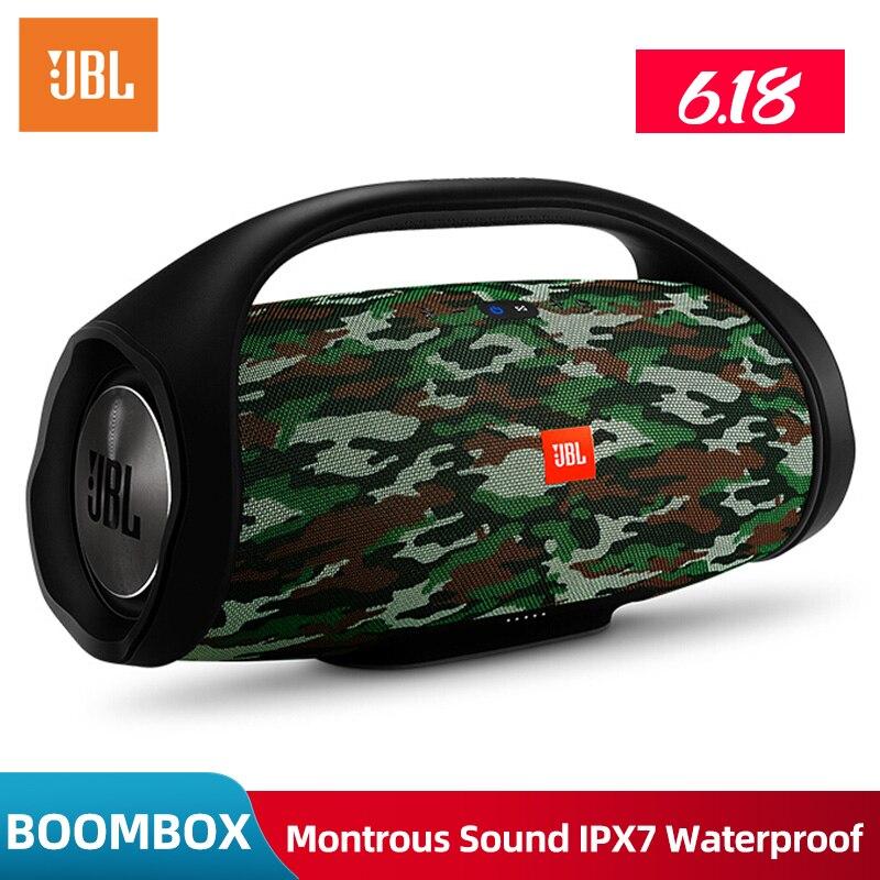 Original JBL BOOMBOX Bluetooth portátil altavoz IPX7 inalámbrico impermeable altavoz dinámica Musical Subwoofer altavoz