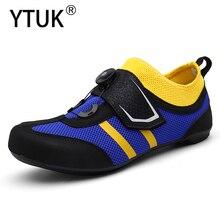 YTUK locked leisure sport road bike cycling shoes MTB mountain bike shoes men women ultralight breathable non-slip trekking