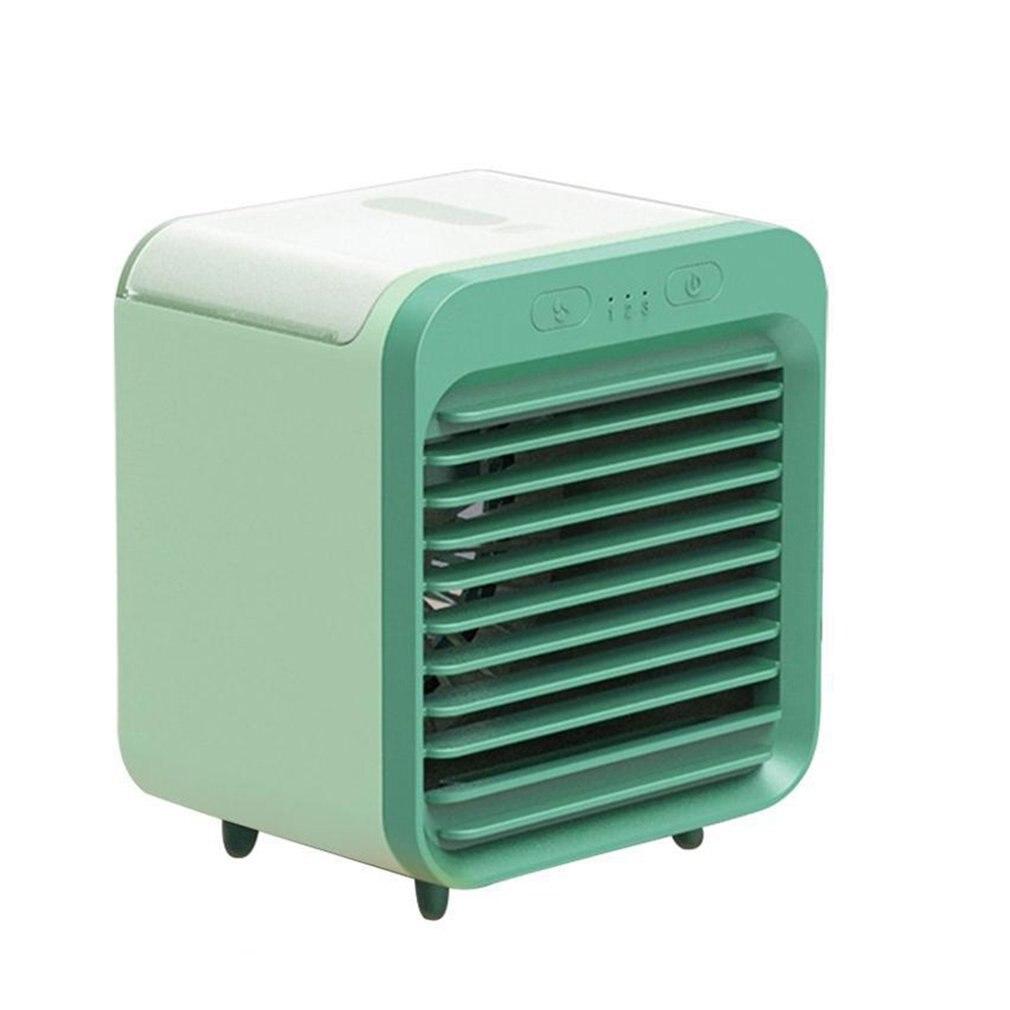 جهاز تكييف هواء 3 في 1 يعمل بتبريد سطح المكتب ورذاذ يو اس بي مكيف هواء للتبريد السريع مزود بثلاثة تروس