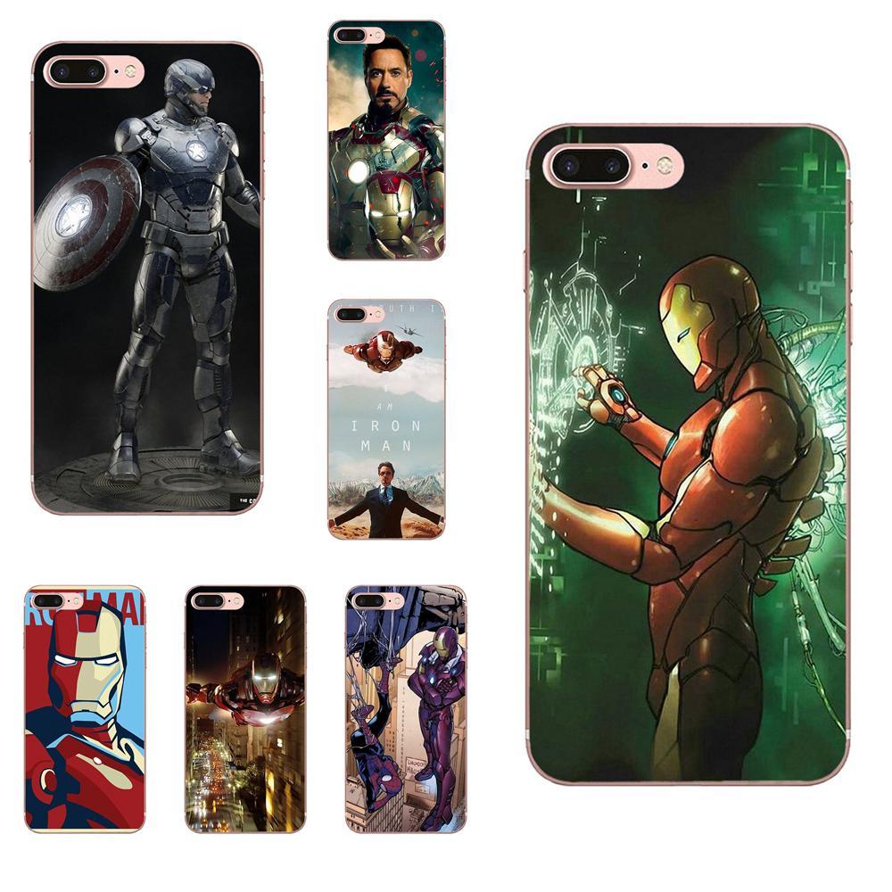 Bien Hombre de Hierro de Tony Stark Marvel Super héroe para Sony Xperia Z Z1 Z2 Z3 Z4 Z5 Mini compacto M2 M4 M5 T3 E3 E5 XA XA1 XZ Premium