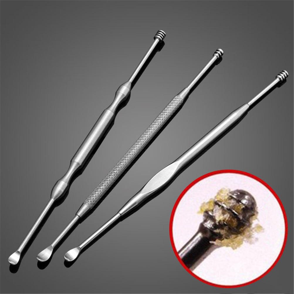1PCS Stainless Steel Ear Wax Pickers Ear Picks Wax Removal Curette Remover Cleaner Ear Care Tool Ear
