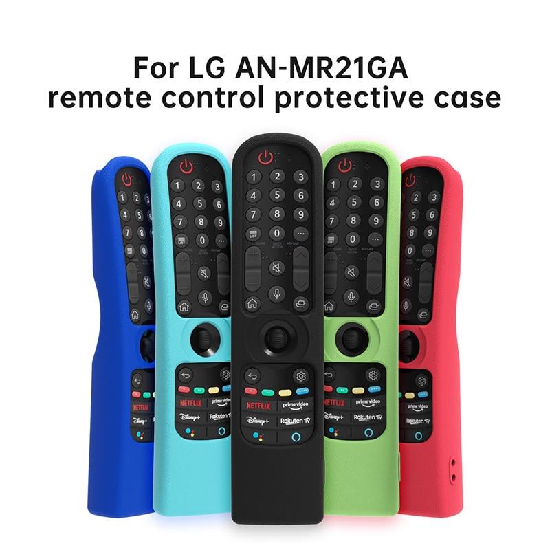 Housse de télécommande SIKAI pour LG, étui en Silicone coloré pour télécommande MR21GA (MR21N, MR21GC)