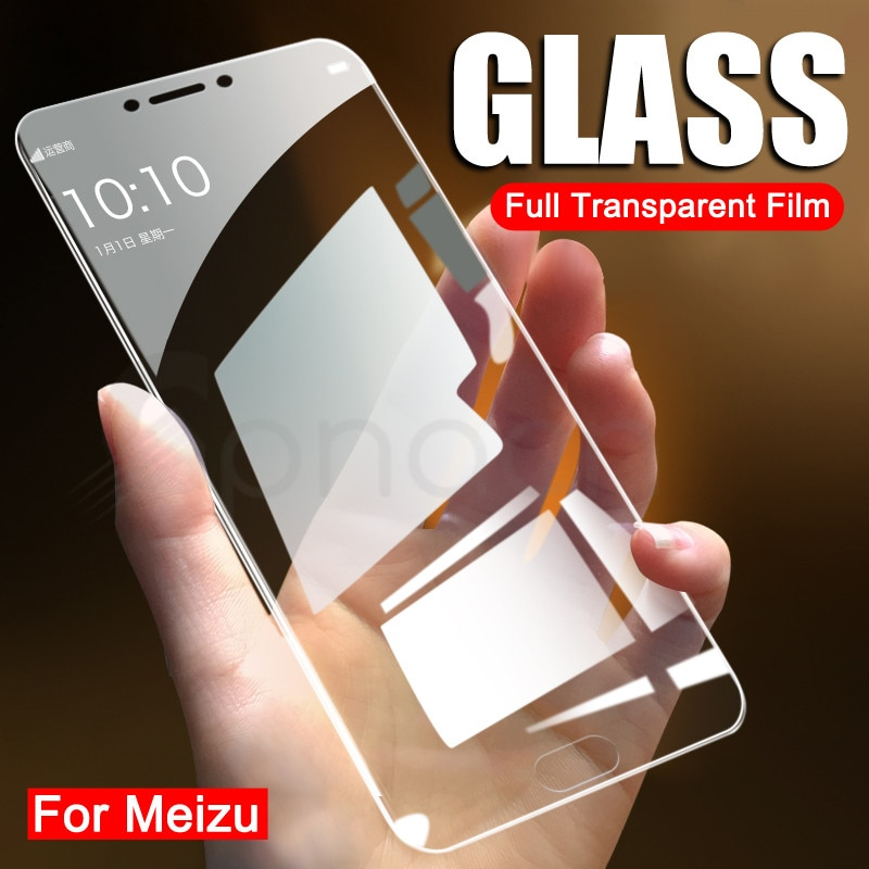 9D Protective Glass on the For Meizu M6 M5 M3 M3S Note Tempered Screen Protector Glass Meizu M6S M6T