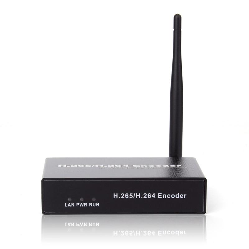 H.264 HDMI Video Audio Wifi Encoder Iptvs Rtsp Rtmp Onvif HDMI Encoder H265 for Live Streaming Broadcast(EU Plug) enlarge