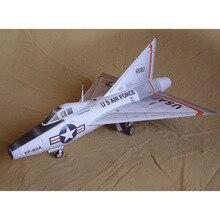 148 американская экспериментальная машина Delta Wing, 3D бумажная модель, ручная работа, домашние работы, хобби, Подарочная авиационная модель,