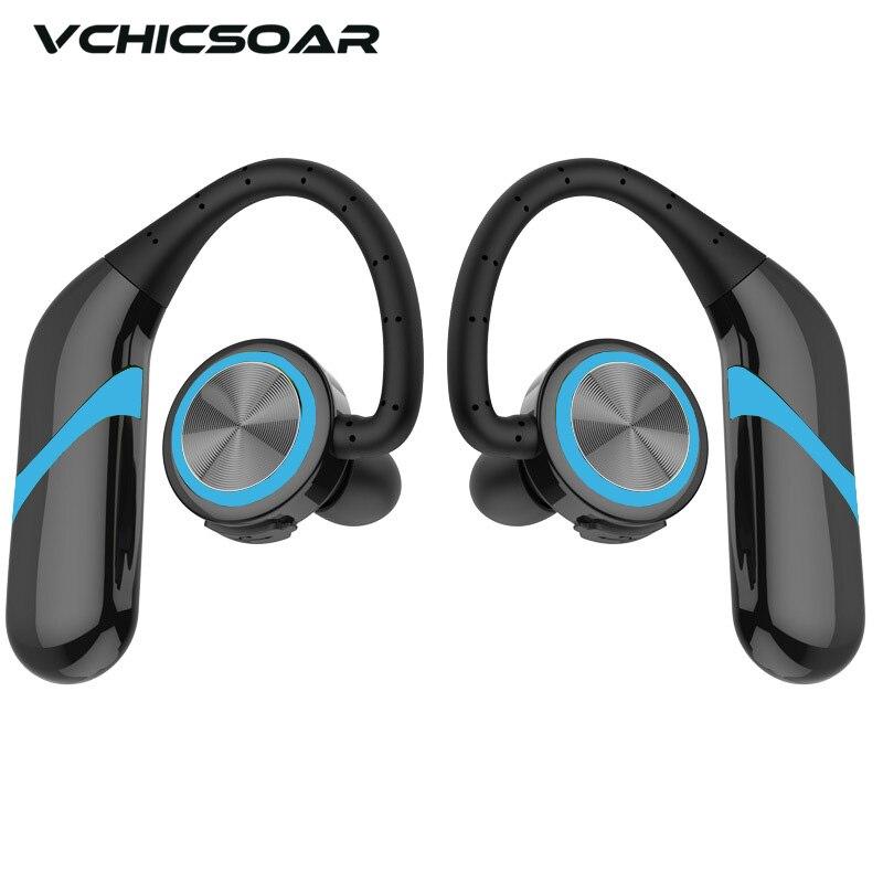 Esportes sem Fio Fones de Ouvido com Microfone Fone para Xiaomi Vchicsoar Bluetooth Baixo Estéreo 4.2 Huawei Telefone Tws