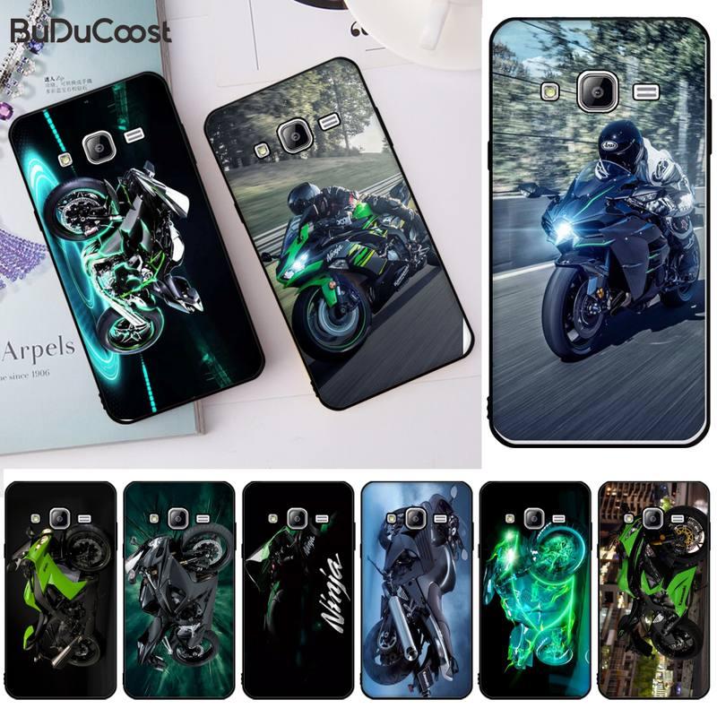 Kawasaki Ninja Zx R Sport Motorrad DIY Luxus Telefon Fall Für Samsung J2 4 5 6 7 8 Prime Pro plus Duo Neo J415 8 9 J600 737 730