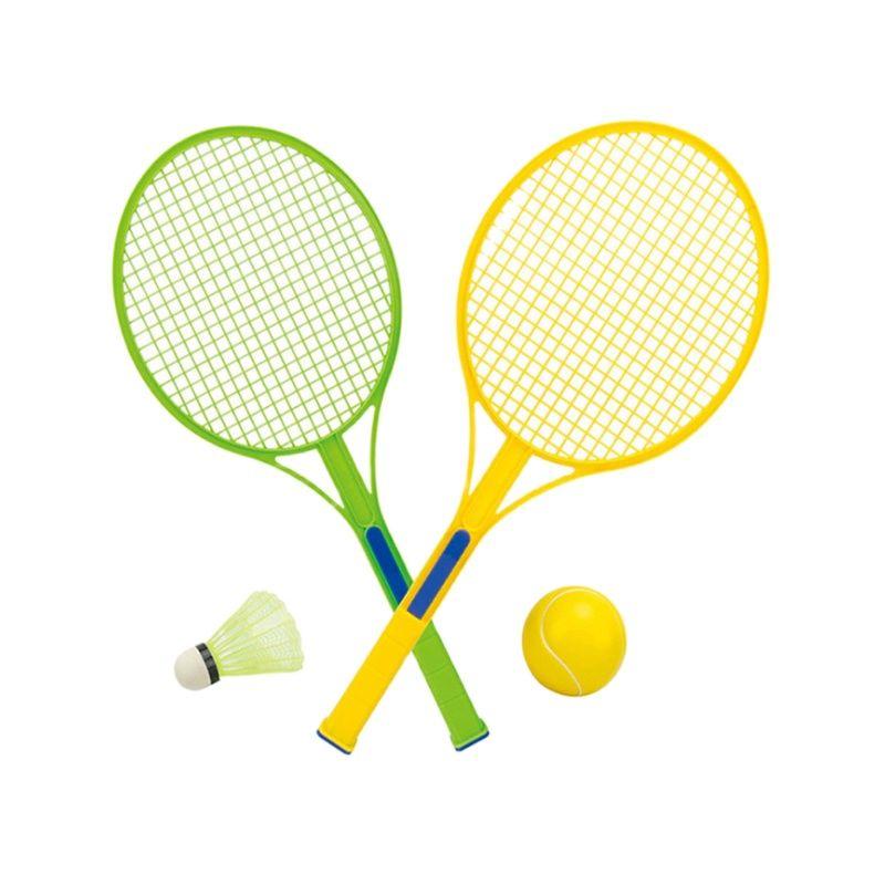 Детская ракетка для бадминтона, теннисная ракетка для дома и улицы, ракетка для тренировок начинающих, детские спортивные мячи, игрушки опт...
