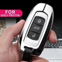 car key case for geely atlas boyue nl3 proton x7 x70 emgrand fc suv vision x6 nl4 gt gc9 borui keychain car key cover shell