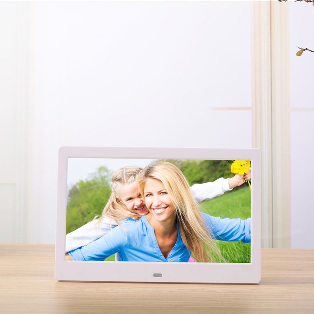 10 Inch Lcd Widescreen Hd Led Electronic Photo Album Digital Photo Frame Wall Advertising Machine Gift enlarge
