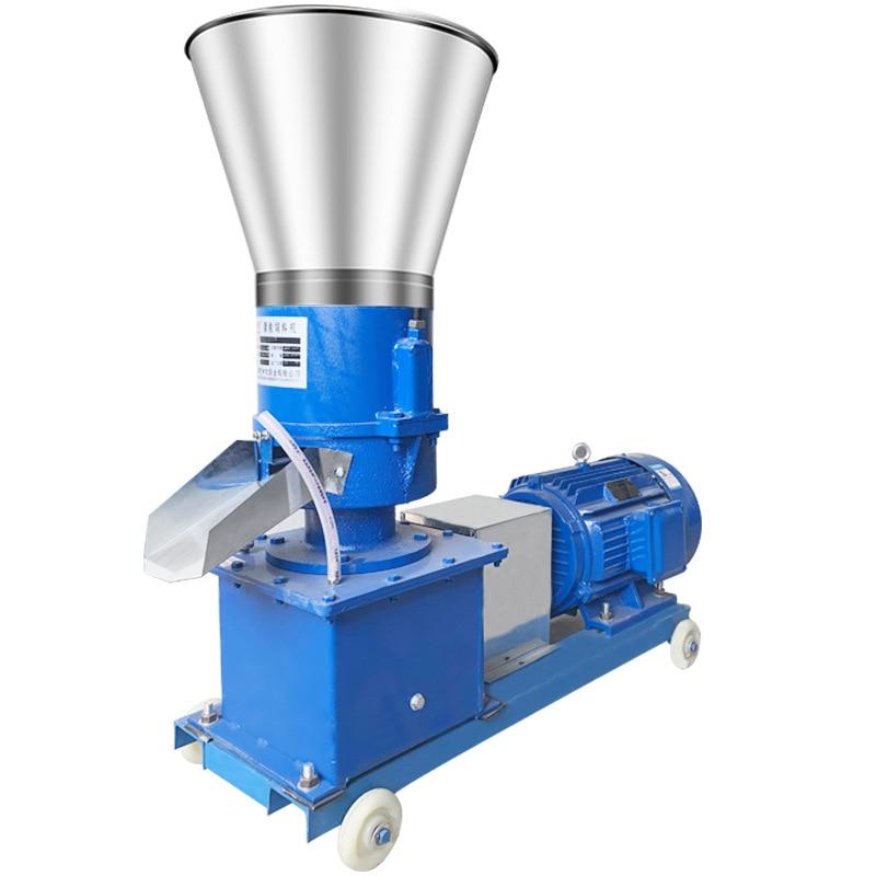 Pellet Mill Multi-function Feed Food Pellet Making Machine Household Animal Feed Granulator 4kw 220V/ 380V 60kg/h-120kg/h