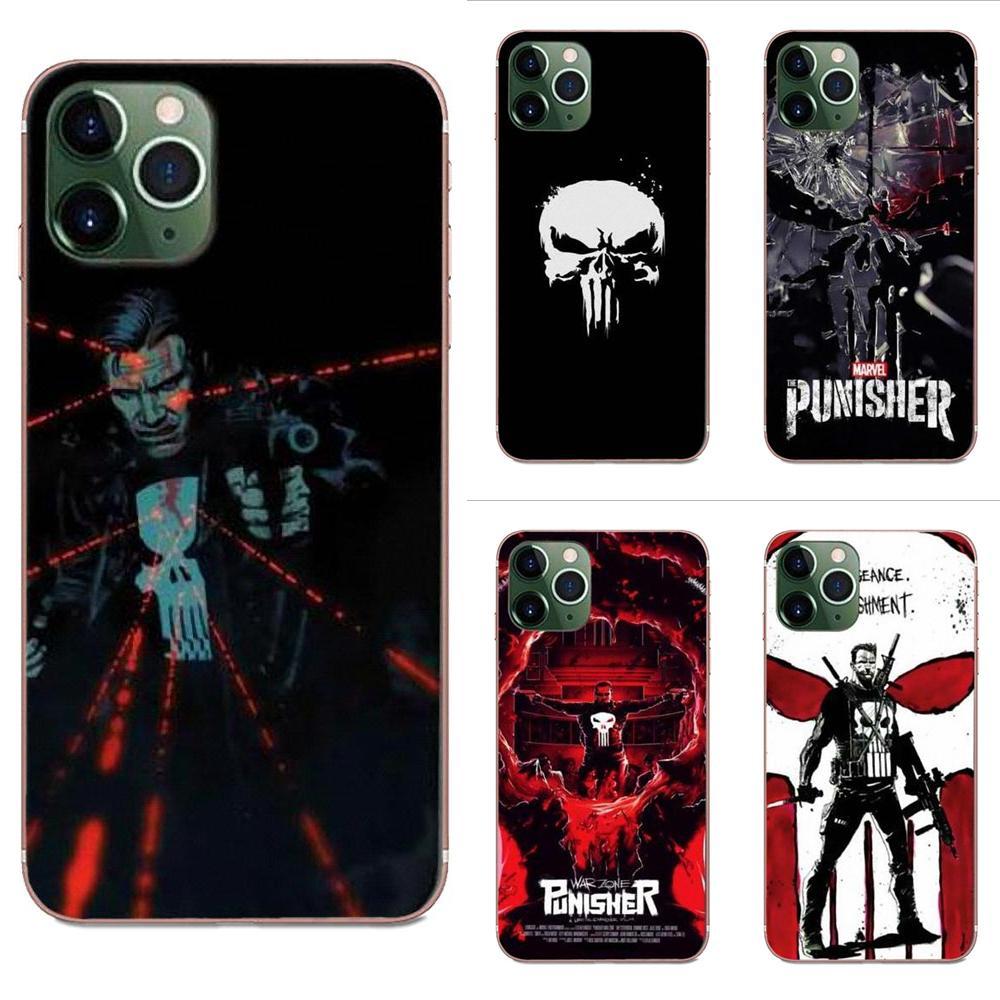 The Punisher For Xiaomi CC9E Mi3 Mi4 Mi4i Mi5 Mi 5S 6 6X 8 9 SE Play Plus Pro Lite A1 Mix 2 Note 3 Soft Call Box
