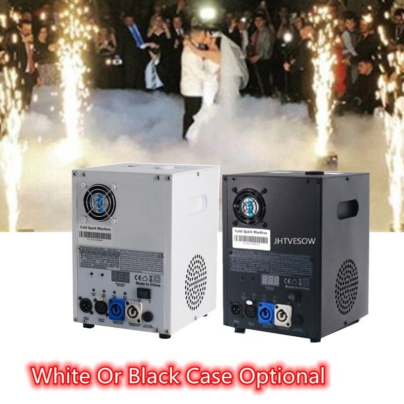 الباردة الألعاب النارية الألعاب النارية تركيبات آلة عن بعد dmx512 3CH dj dmx512 الزفاف الباردة شرارة الألعاب النارية لهب آلة نافورة 600 واط