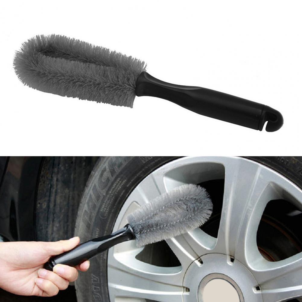 Tire Cleaning Brush Light Easy to Use PP Practical Wheel Hub Cleaner for Car автомобильные товары для автомобиля Brushes