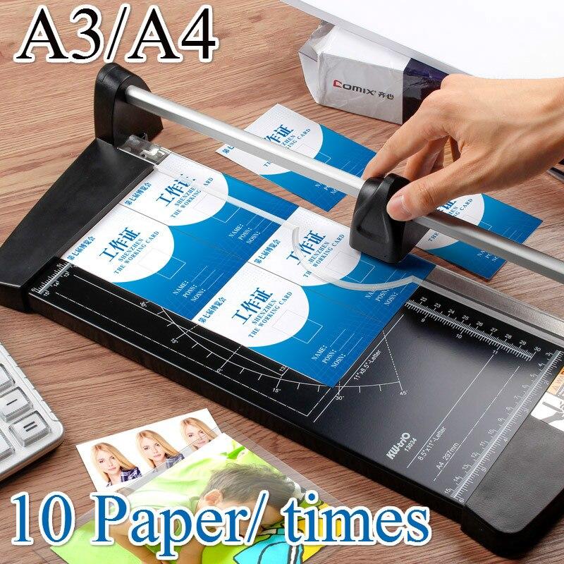 Портативный Прецизионный резак для бумаги А4 А3 триммеры фотографий инструменты