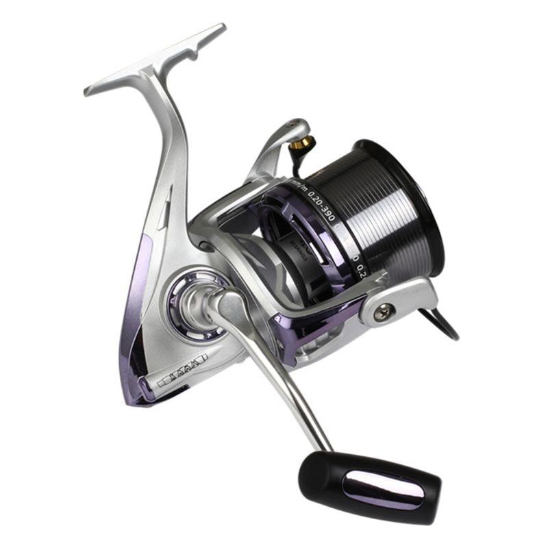 8000/10000/12000 Metal Fishing Reel Long-range Throwing Fishing Rod Anchor Fish Spinning Wheel Anti-sea Water Fishes Wheels enlarge