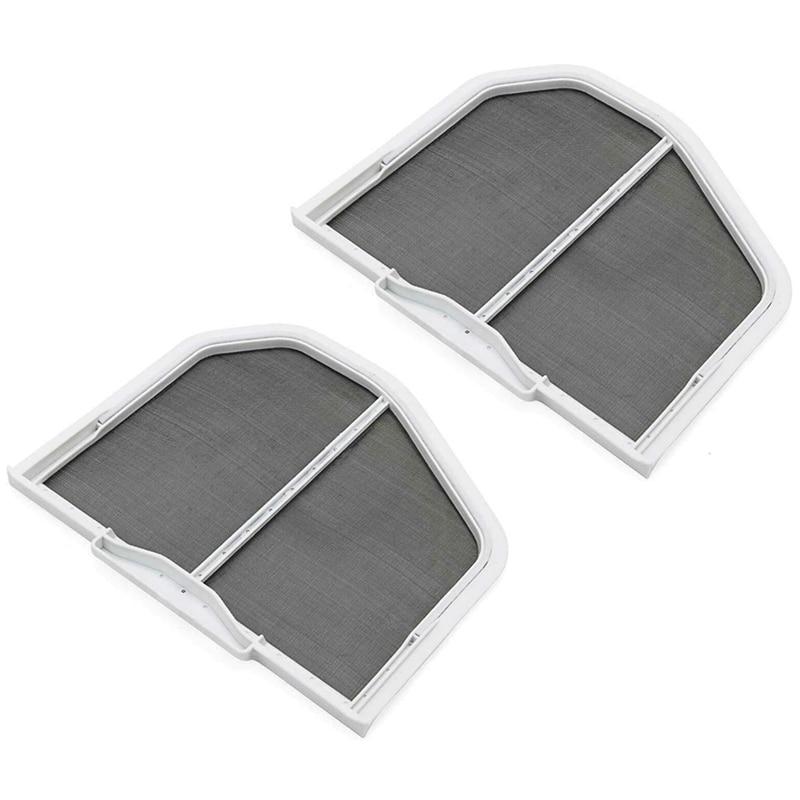 2Pcs W10120998 Dryer Lint Screen Filter for Whirlpool, Kenmore, Roper & Sears Dryers