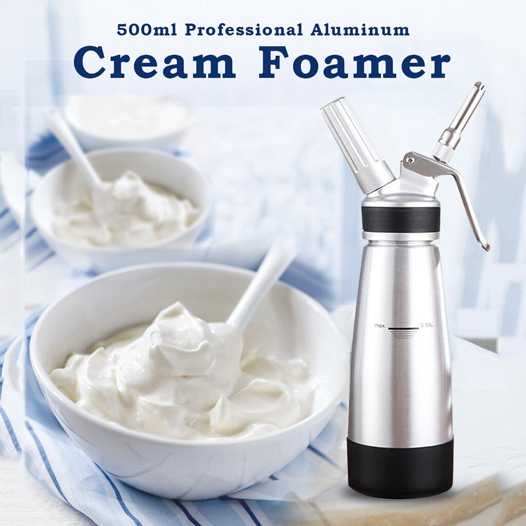 Creamer batida fabricante DIY cocina o cafetería pastel hornear patrón Mousse de alta calidad # YL10