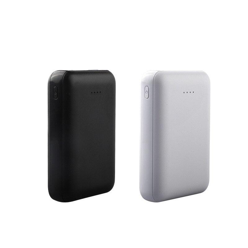8000mAh portátil Mini tamaño batería externa cargador de teléfono de salida USB doble para teléfono móvil