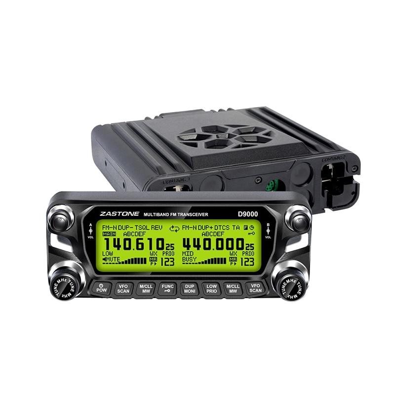 ZASTONE D9000 Car walkiet talkie LCD Enclosure Camouflage panel microphone Car two way radio parts enlarge