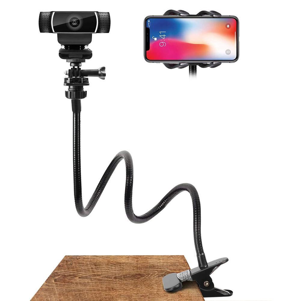 Новинка подставка для веб-камеры Гибкий Настольный кронштейн зажим держатель для камеры держатель для веб-камеры аксессуары держатель для ...