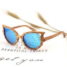 Lunettes de soleil en bois de zèbre   Nouveau Design pour femmes et hommes, lunettes de soleil polarisées Vintage faites à la main, livraison gratuite