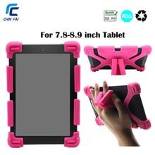 CHINFAI универсальный силиконовый чехол для Teclast 8,0 iPad mini 7,9 Huawei T3 8,0 противоударный чехол для CHUWI 8 Lenovo TAB 4 8,0 Tablet
