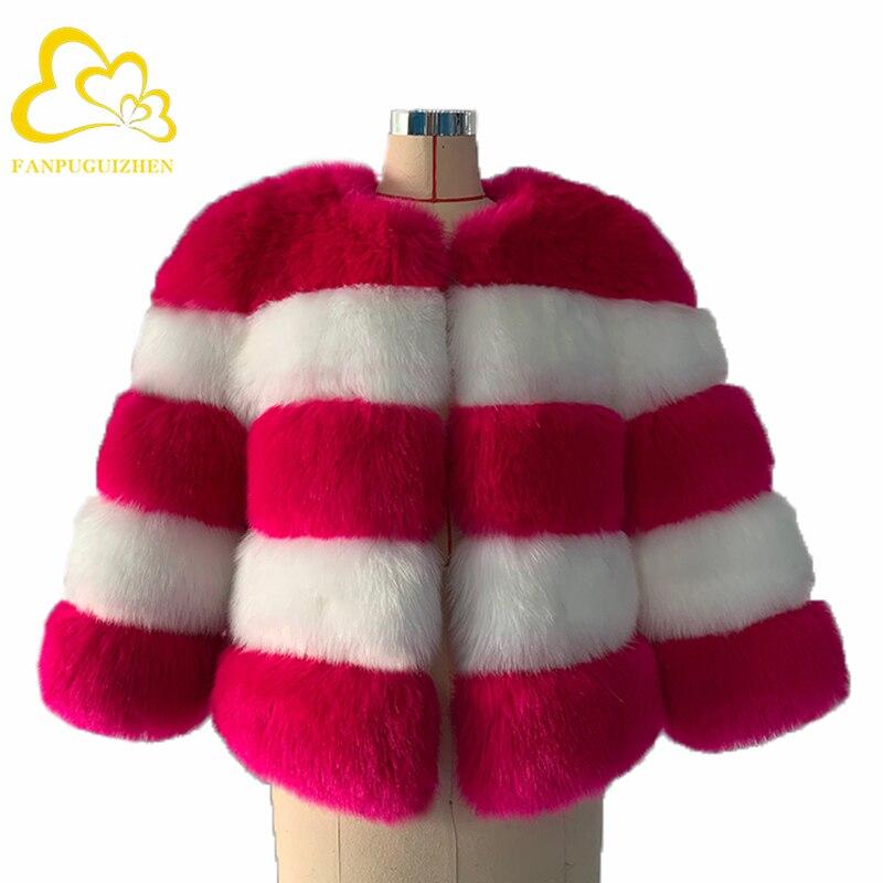 Elegant Faux Fur Coat Women Autumn Winter Warm Soft Faux Fur Jacket Female Plush Overcoat Casual Fur Coat недорого