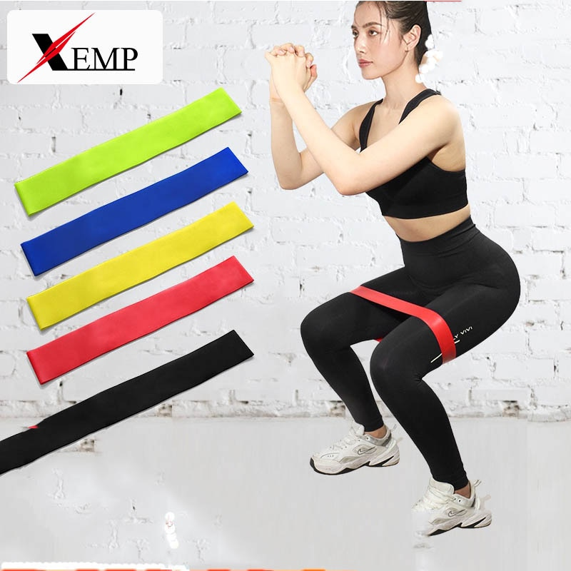 yoga rubber fitness bands training fitness gym exercise gym home strength resistance bands sport crossfit workout equipment Training Fitness Gum Exercise Gym Strength Resistance Bands Pilates Sport Rubber Fitness Mini Bands Crossfit Workout Equipment