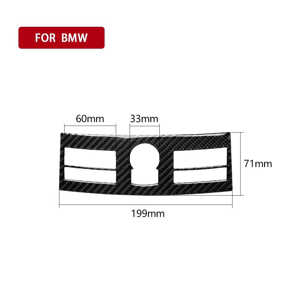 Sistema de navegación Panel embellecedor cubierta calcomanía accesorios para Nissan 350Z Z33 2006-09 UV-resistente Interior Coche