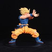 Dragon Ball Z фигурки Сон Гоку Супер Саян 2 Аниме Драконий жемчуг супер камехамеха Коллекционная модель игрушки 170 мм