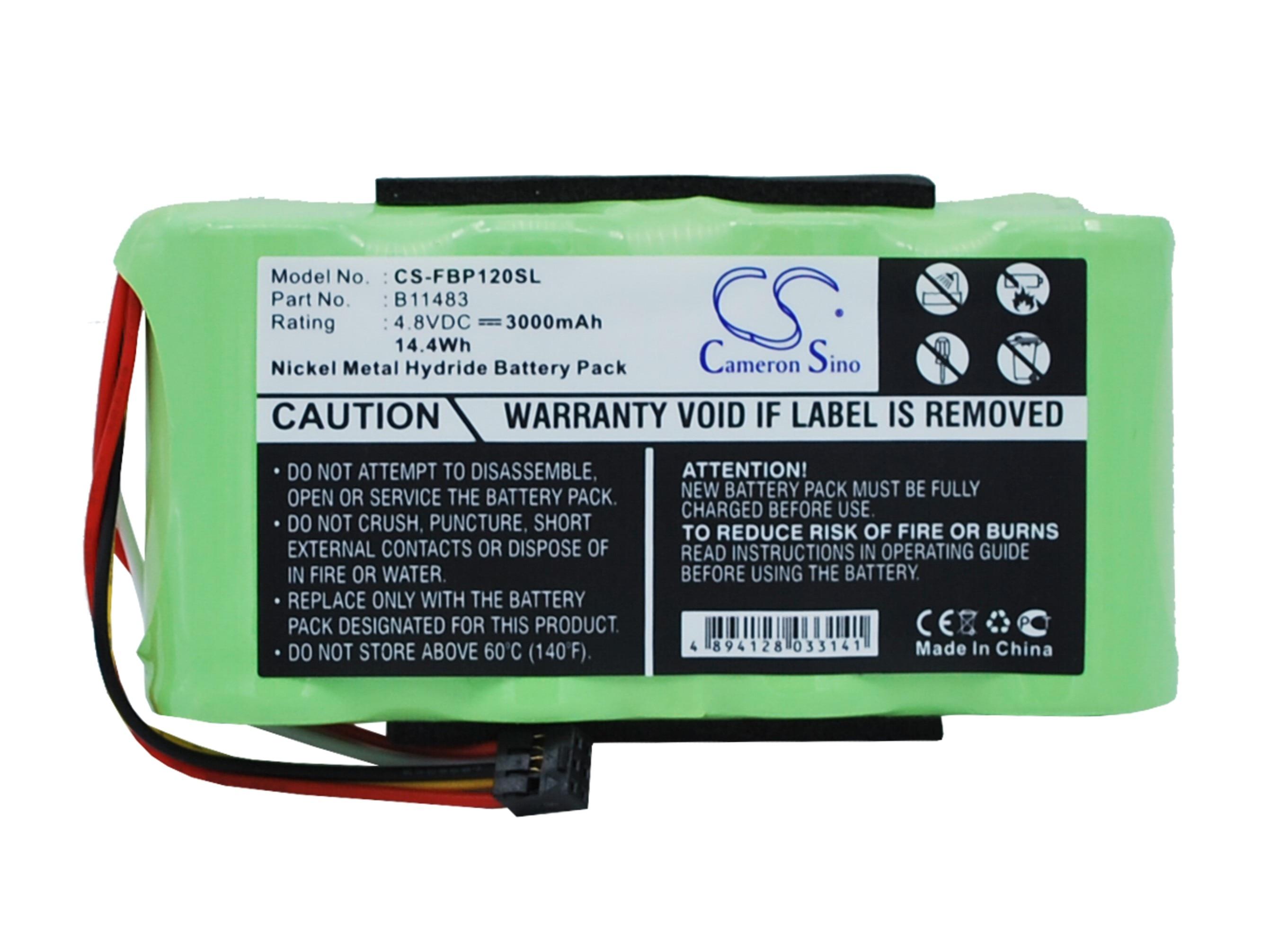 Аккумулятор Cameron Sino 3000 мАч для Fluke 123,Fluke 123S,Fluke 43B, Анализаторы качества мощности, Скоп 120,B11483 BP120MH недорого