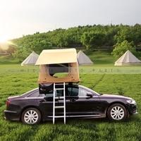 Раскладная палатка на крышу авто, два человека смогут спокойно спать