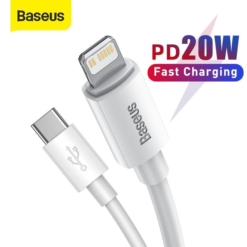 Baseus-Cable USB tipo C PD de 20W, Cable de carga rápida para...