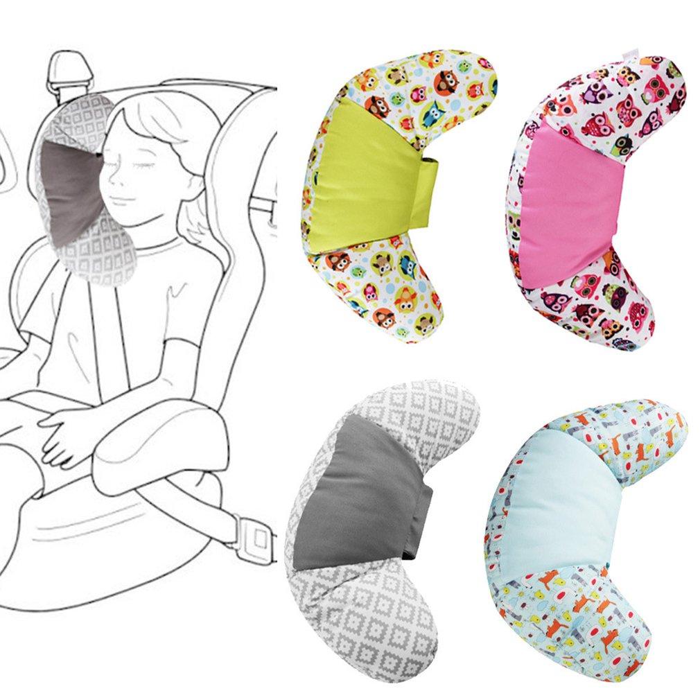 Подушка для автомобильного сиденья 1 шт., хлопковая мягкая подушка для сна на подголовник автомобильного сиденья