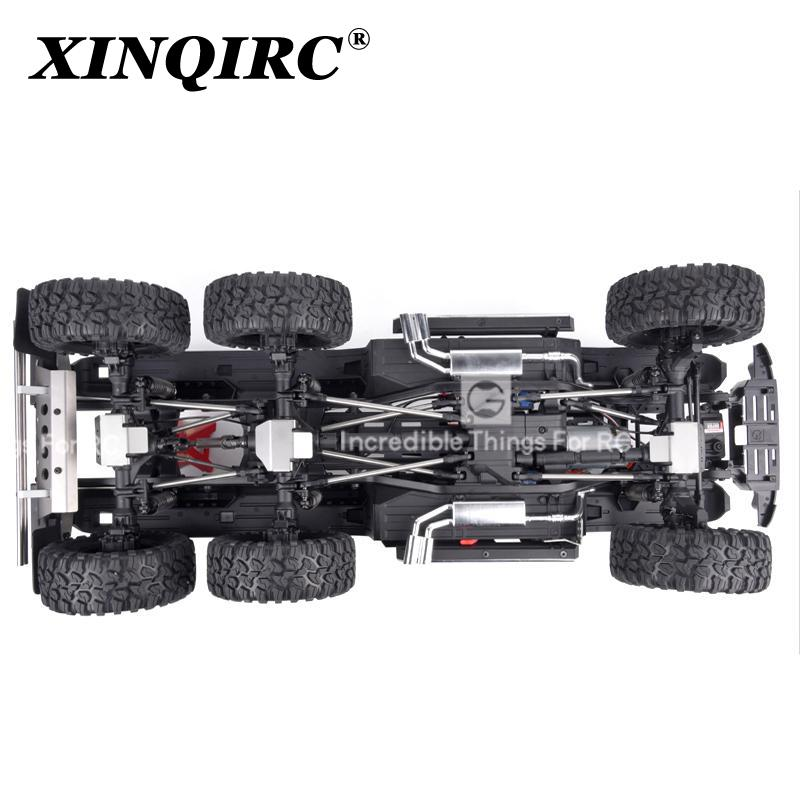 Trx6 g63 stainless steel chassis armored axle protection plate for 1 / 10 RC tracked vehicle traxxas trx-6 car accessories enlarge