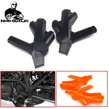Orange Black Motorcycle Accessories Bumper Frame Protection Guard Cover For KTM 1290 SUPER ADVENTURE 1290SUPER ADVENTURE