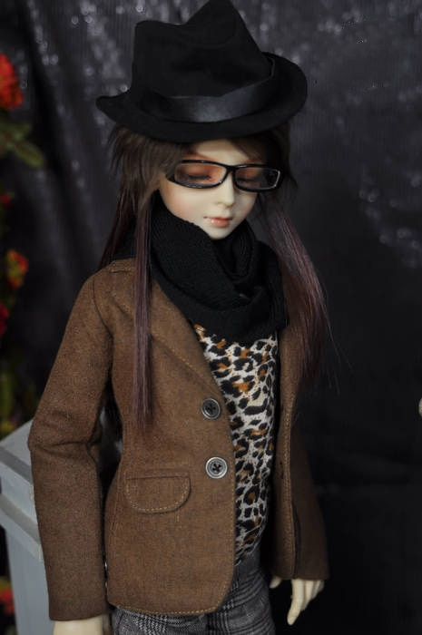 1/4 1/3 escala BJD ropa de lana traje chaqueta abrigo para BJD/SD MSD SD13 SSDF ID72 HID fuerte tío muñeca accesorios C00103