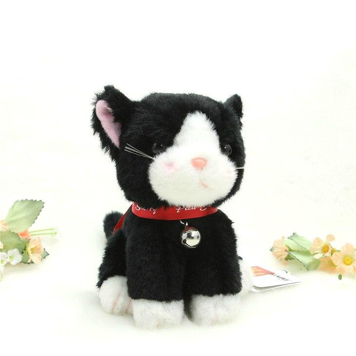 13cm takenoko japão brinquedos de pelúcia de alta qualidade bonito gato preto para o dia dos namorados presente do feriado 90017