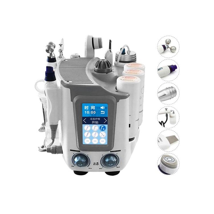 2021 most popular h2 o2 hydrafacial machine small bubble oxygen jet exfoliating skin treatment machine anti-aging whitening tool