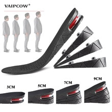 1.5-9cm Invisible Height Increase Insole Cushion Height Lift Adjustable Cut Shoe Heel Insert Taller