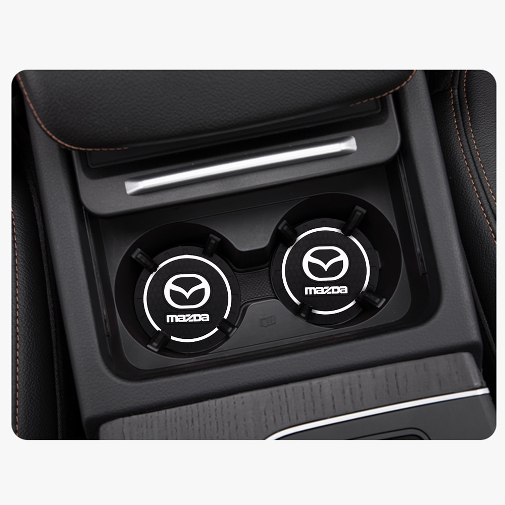 AliExpress - Car Water Cup Anti-Slip Pad Bottle Holder Mat Car Styling For Mazda 3 6 cx-5 2 cx7 323 cx3 Interior Accessories Car Styling